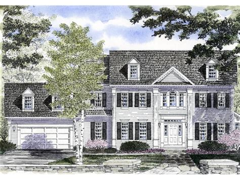 georgian colonial house plans mabelle georgian colonial home plan 034d 0061 house