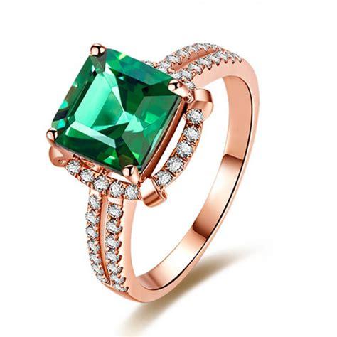 halo 1 50 carat princess cut emerald and