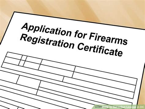Can You Get A Gun License With A Criminal Record How To Get A Gun License In Dc 13 Steps With Pictures Wikihow