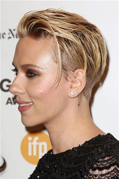 why scarlett johansson cut hair un nuevo look corte pixie como scarlett johansson pixie