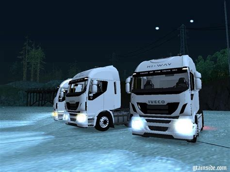 skin pack new year 2017 for iveco hiway and volvo 2012 gtainside gta mods addons cars maps skins and more
