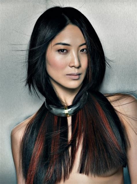 highlight colors for black hair fall 2011 hair color ideas