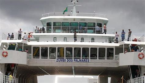 ferry boat zumbi dos palmares ferry zumbi dos palmares entra em opera 231 227 o na travessia