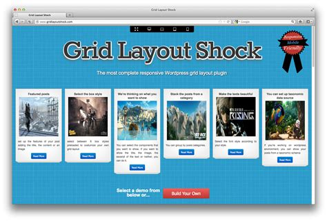 grid layout demo the new grid style made easy with grid layout shock