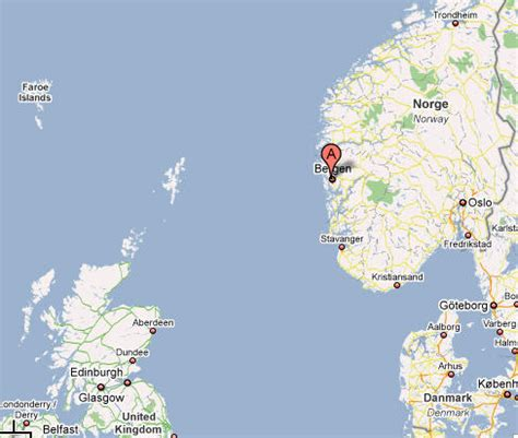 map   university of bergen
