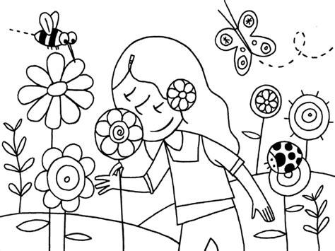 disegni da colorare fiori di primavera 10 disegni da colorare sulla primavera mamma e casalinga