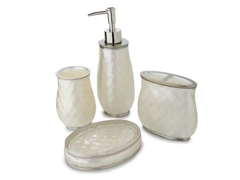 nicole miller bathroom accessories nicole miller sparkle bath set