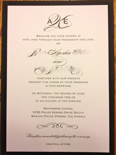 24 best Wedding Invitations images on Pinterest