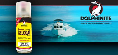 boat paint in a spray can review dolphinite gelmatch simplifies gelcoat repair
