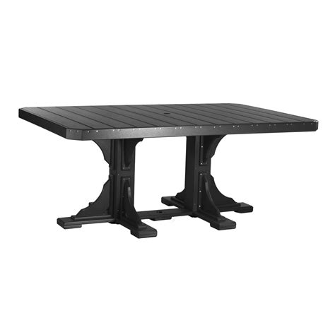 black rectangular patio dining table rectangular dining table recycled patio oak things