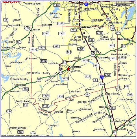 map of johnson county texas johnson county economic development