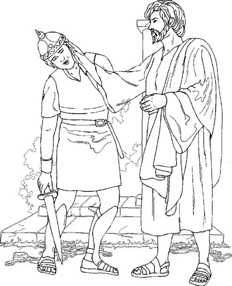 jesus heals ten lepers coloring page coloring home
