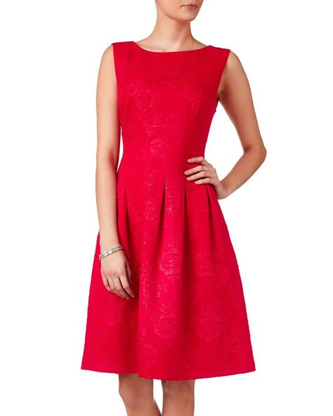 Dress Of The Day Jacquard Dress by Dresses Roberta Jacquard Dress Phase Eight