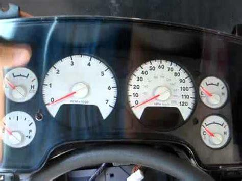 2008 dodge ram 1500 gauge led light color change (part 1