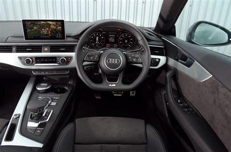 audi dashboard a5 audi a5 design styling autocar