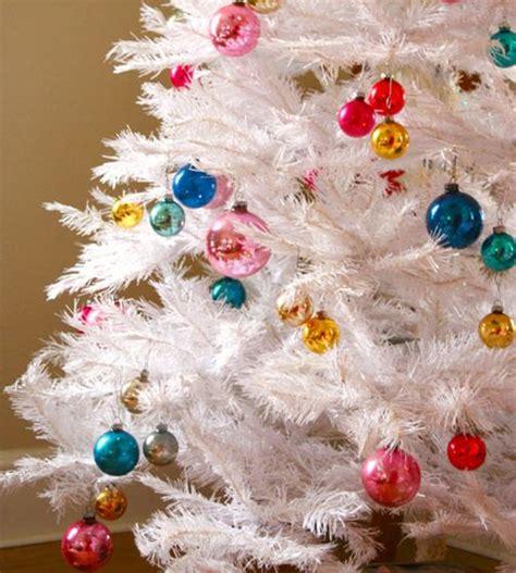 white aluminum christmas tree i heart old houses
