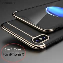 Hardcase 3 In 1 Pc Golden Slim Cover Samsung Galaxy S7 Flat For Iphone X Vpower 3 In 1 Ultra Slim For Apple