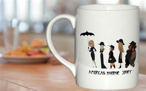 Ceramic Mug Cup Story american horror story mug gift custom mug ceramic mug