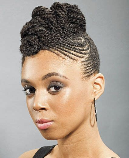 styles on braided lines 1000 images about african american hair styles on