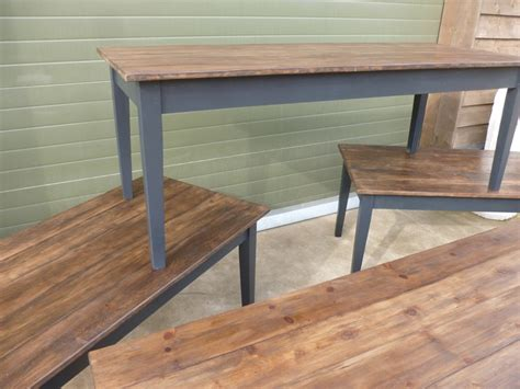 reclaimed pine kitchen table reclaimed pine floorboard top farmhouse kitchen table