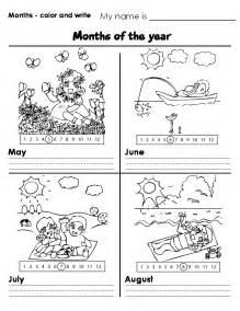 months worksheet new calendar template site