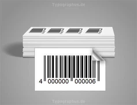 Barcode Etiketten Drucken Online by Barcode Etiketten 32x17 Mm Papier Gl 228 Nzend Ean Code 39 Usw