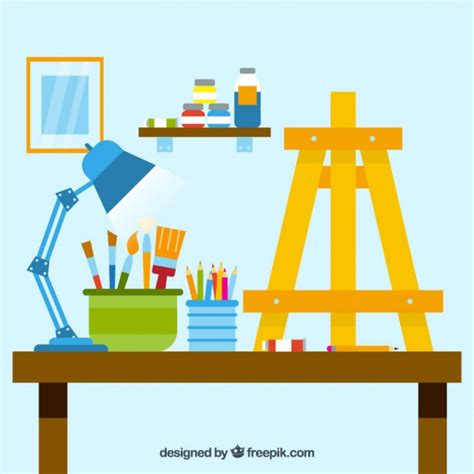 drawing studio free studio vector free