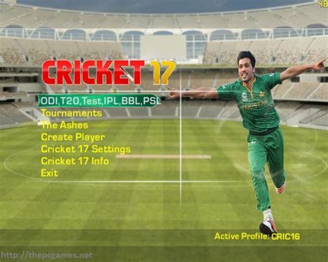 ea cricket games free download full version for pc 2010 ea sports cricket 2017 pc game full version free download