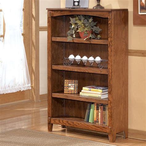 cross island desk w storage cross island medium bookcase signature design 2 reviews