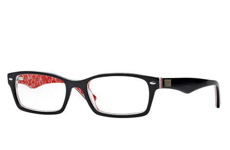 ban reading glasses rayban model rb5206 black