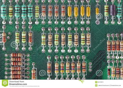 resistors function circuit board resistors stock photos image 9673813