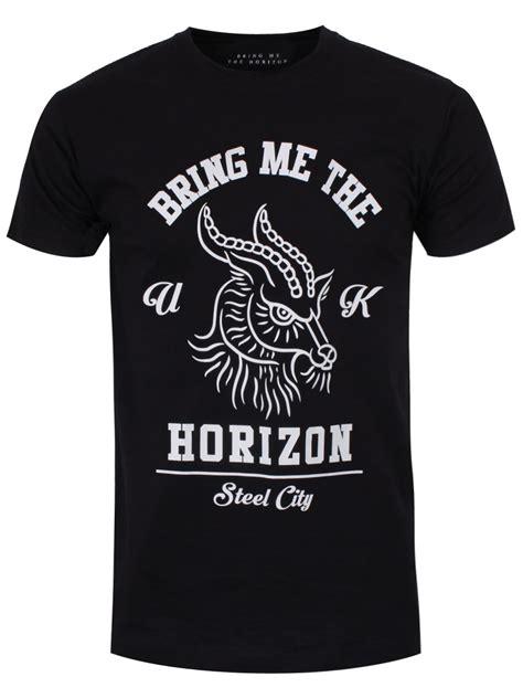 Tshirt Bring Me The Horizon Black 2 bring me the horizon goat s black bmth t shirt ebay