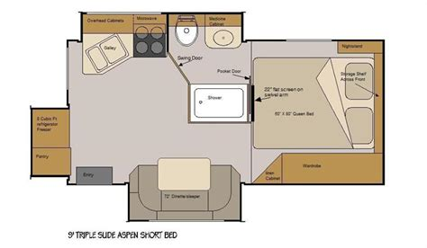 chinook rv floor plans chinook rv floor plans