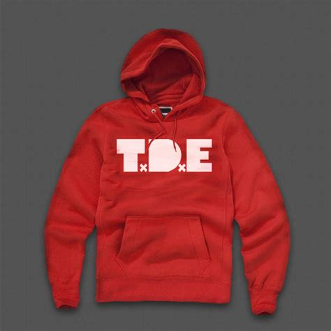 hoodie t t d e top dawg entertainment hoodie by kendrick lamar