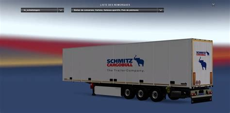 ets  schmitz trailer  truck simulator mods