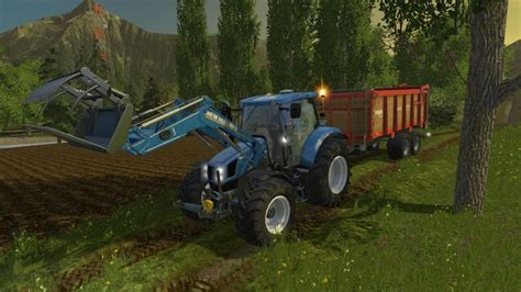 Pipe Ls by New T6 230 Tractor Pipe Ls15 Mod