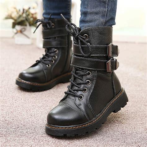 martin winter snow boots shoes boot boys children autumn