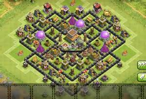 Farming base th8 with inside town hall 2016 best th8 farming base th
