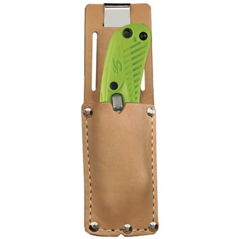 utility utility knife leather belt holster