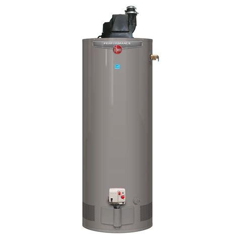 Rheem Performance 50 Gal. Tall 6 Year 42,000 BTU Power Vent Liquid Propane Gas Water Heater