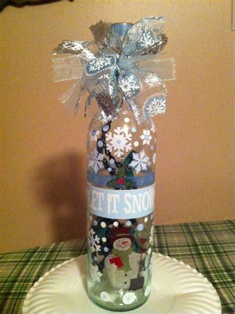 185 best wine bottle decorations images on pinterest