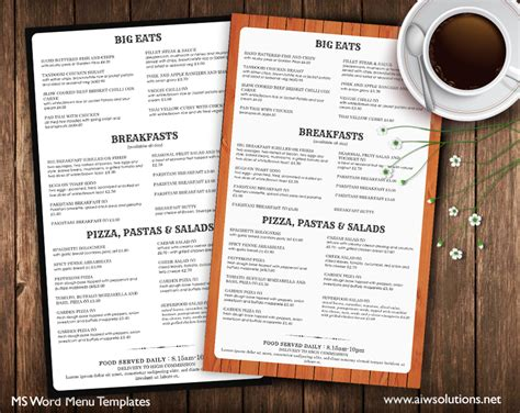 menu cards templates for restaurant design templates menu templates wedding menu food