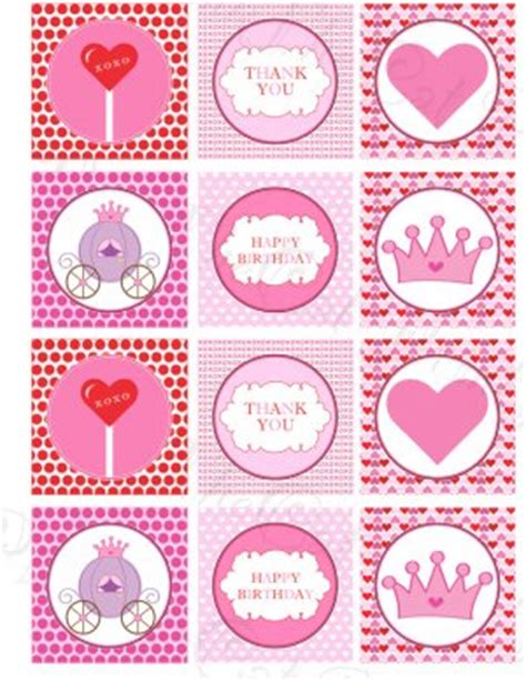 Blanco Uk 4170 by Printable Princess Print Diy Labels Tags Magnets