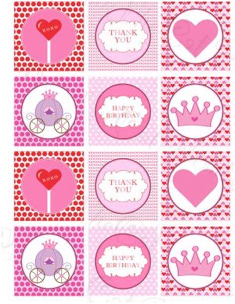 blanco uk 4170 printable princess print diy labels tags magnets