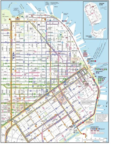 san francisco muni map san francisco muni maplets