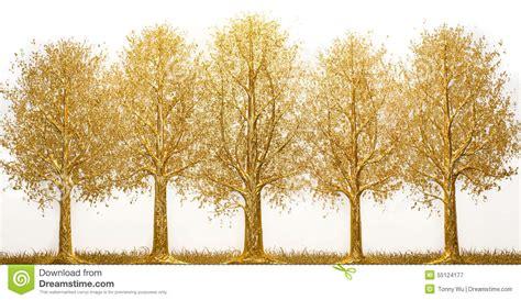 Gold Tree - gold tree stock photo image 55124177