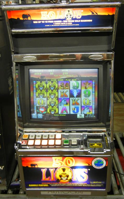 50 slot machine aristocrat mk v 50 lions worldwide gaming inc product