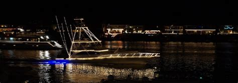 Costa Del Mar Boat Giveaway - 2014 newport beach christmas boat parade deck the hulls