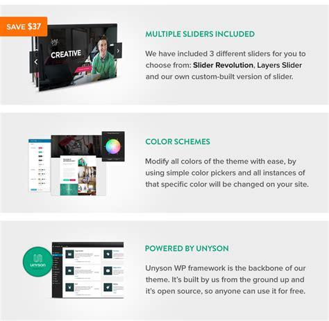 themeforest fuse the core multi purpose wordpress theme business