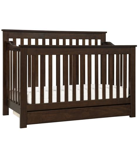 Espresso Convertible Cribs Davinci Piedmont 4 In 1 Convertible Crib And Toddler Bed Conversion Kit Espresso
